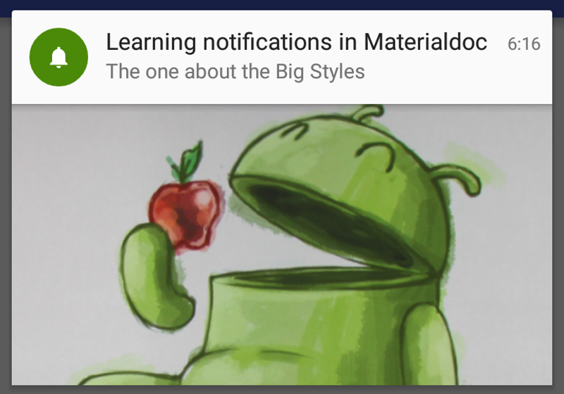Big Notifications Title Notification